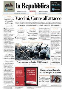 la Repubblica - 24 Gennaio 2021