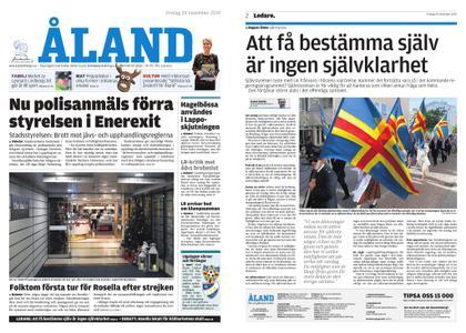 Ålandstidningen – 29 november 2019