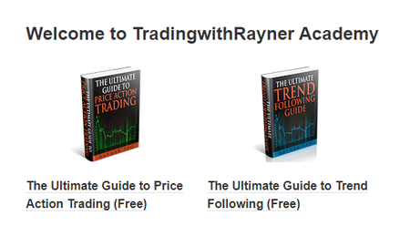 Trading with Rayner - Academy Pro Traders Edge