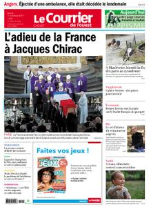 Le Courrier de l'Ouest Cholet – 01 octobre 2019
