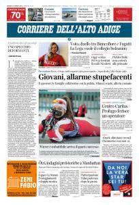 Corriere dell'Alto Adige - 12 Gennaio 2018