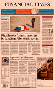 Financial Times Europe – 01 October 2019