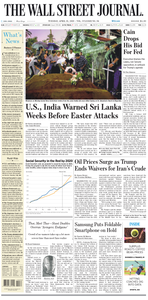 The Wall Street Journal – 23 April 2019