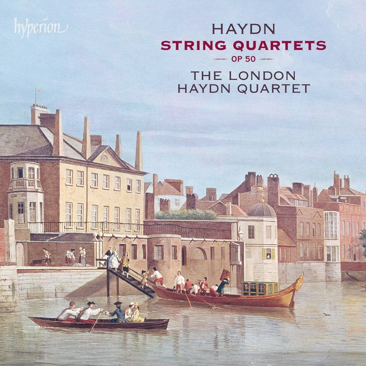 The London Haydn Quartet - Haydn: String Quartets Op 50 (2016) [TR24][OF]
