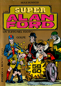 Super Alan Ford Serie Oro - Volume 20 - Numeri 58, 59, 60