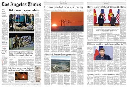 Los Angeles Times – August 27, 2021