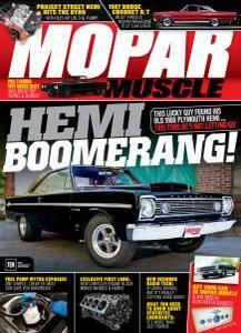 Mopar Muscle - June 2017