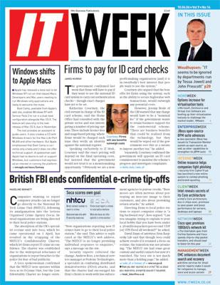 IT Week Magazine April 10 2006