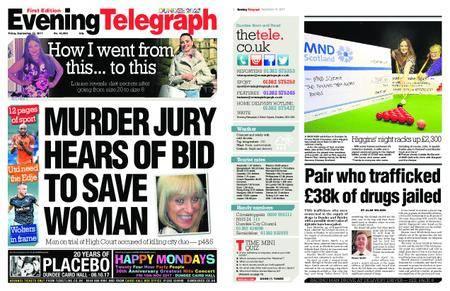 Evening Telegraph First Edition – September 15, 2017