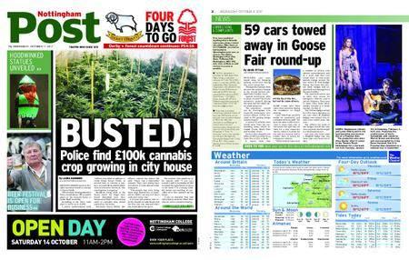 Nottingham Post – October 11, 2017