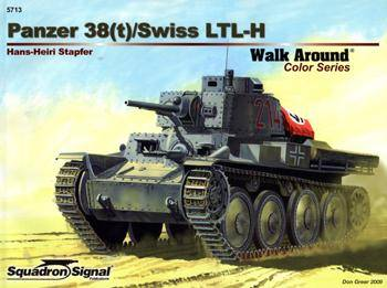 Panzer 38(t)/Swiss LTL-H (Squadron Signal Walk Around Color Series 5713)