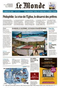 Le Monde du Jeudi 1er et Vendredi 2 Novembre 2018