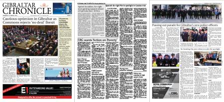 Gibraltar Chronicle – 14 March 2019