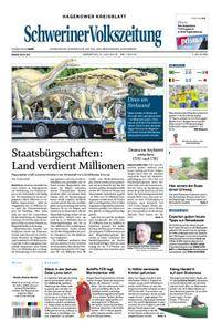 Schweriner Volkszeitung Hagenower Kreisblatt - 03. Juli 2018