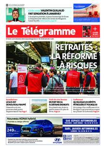 Le Télégramme Guingamp – 02 décembre 2019