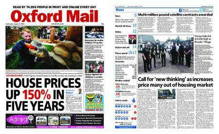 Oxford Mail – August 15, 2018