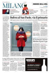 Corriere della Sera Milano - 22 Febbraio 2018