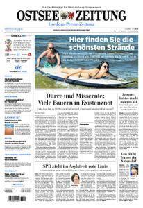 Ostsee Zeitung Wolgast - 04. Juli 2018