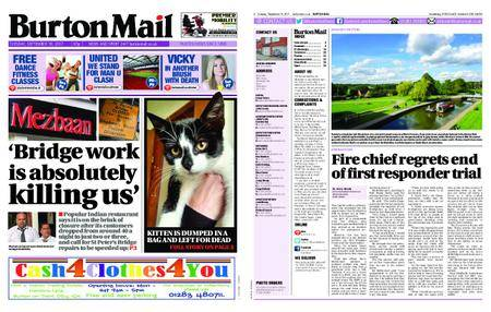 Burton Mail – September 19, 2017