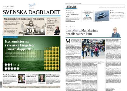 Svenska Dagbladet – 17 mars 2019