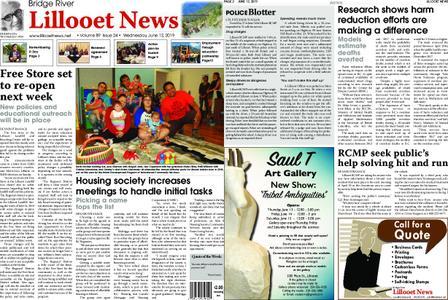 Bridge River Lillooet News – June 12, 2019