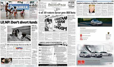 Philippine Daily Inquirer – March 13, 2010
