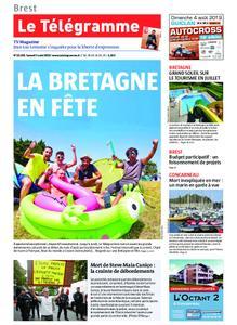 Le Télégramme Brest Abers Iroise – 03 août 2019