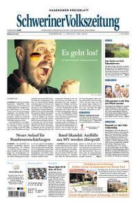 Schweriner Volkszeitung Hagenower Kreisblatt - 14. Juni 2018