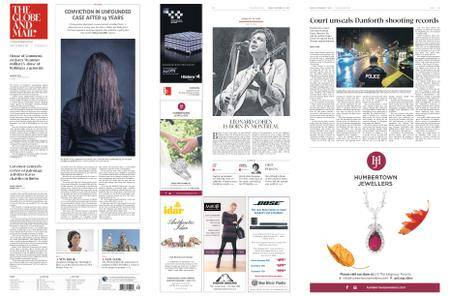The Globe and Mail – September 21, 2018