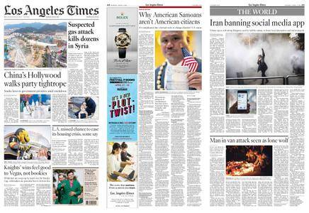 Los Angeles Times – April 09, 2018