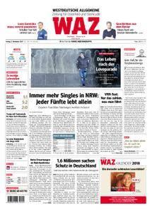 WAZ Westdeutsche Allgemeine Zeitung Oberhausen-Sterkrade - 03. November 2017