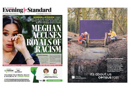 London Evening Standard – March 08, 2021