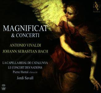 Jordi Savall - Antonio Vivaldi, J.S. Bach - Magnificat & Concerti (2014) {CD with DVD5 PAL Alia Vox AVSA9909D}