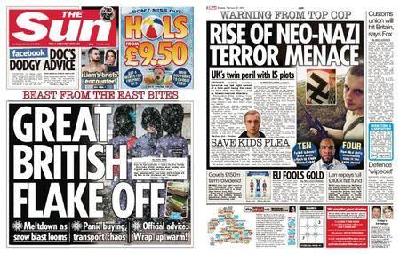 The Sun UK – 27 February 2018