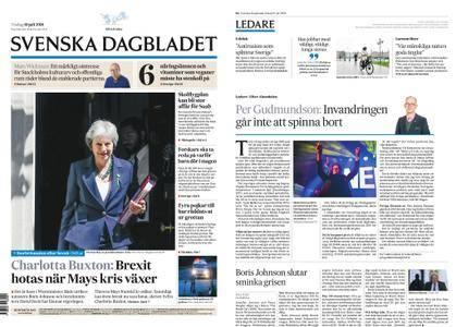 Svenska Dagbladet – 10 juli 2018