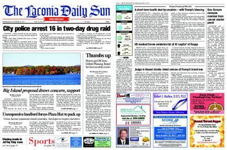 The Laconia Daily Sun – October 18, 2017