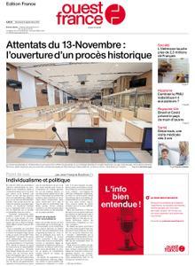Ouest-France Édition France – 08 septembre 2021