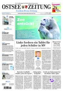 Ostsee Zeitung Wolgast - 07. November 2018