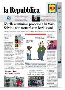 la Repubblica - 26 Febbraio 2019