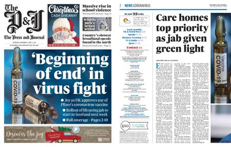 The Press and Journal Moray – December 03, 2020