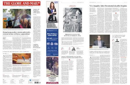 The Globe and Mail – November 18, 2019