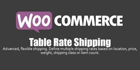 WooCommerce - Table Rate Shipping v3.0.3