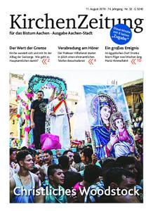 KirchenZeitung für das Bistum Aachen – 11. August 2019