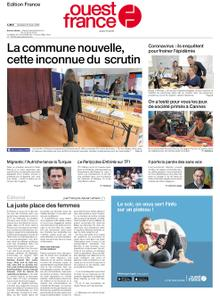 Ouest-France Édition France – 06 mars 2020