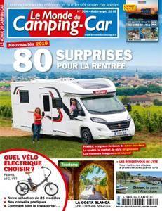 Le Monde du Camping-Car - août 2018