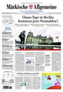 Neue Oranienburger Zeitung - 21. November 2017