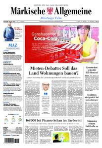 Märkische Allgemeine Jüterboger Echo - 18. Juni 2019