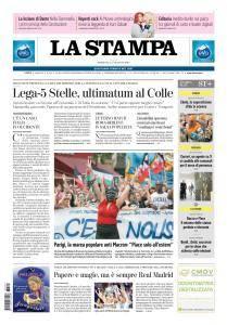 La Stampa Imperia e Sanremo - 27 Maggio 2018