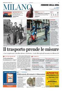 Corriere della Sera Milano – 22 aprile 2020