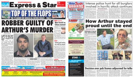 Express and Star Staffordshire Edition – March 22, 2019